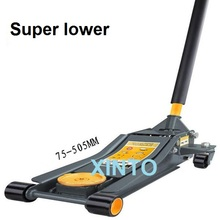 3Ton Super lower hydraulic floor lifting car jack for car repairing, auto lower wheel jack stand support(China)