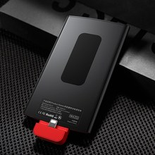 Baseus 4000mAh Backpack Power Bank For iPhone 7 6 6s Plus 5 5s Powerbank Portable External Battery Charger Case For iPhone 5/6/7(China)