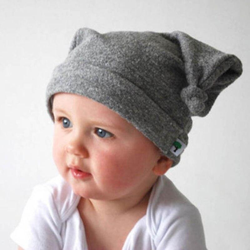 Kids Accessories Baby Boys Girls Hat Children Head Devil Horns Cotton  Beanies Cap Infant Photo Props Panama Hats Skull Elastic-in Hats   Caps  from Mother ... 36511e705c2