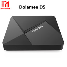 Dolamee D5 TV Box Android 2GB/8GB RK3229 Quad Core Cortex A7 1.5GHz 32-Bit WIFI Ultra HD IPTV KODI HDMI Smart TV Media Player