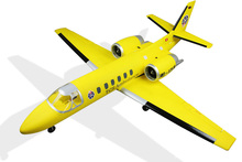DYNAM CESSNA 550 SWISS TURBO JET 1180MM PNP RC aircraft electric remote control model ,RC model,cessna550(China)