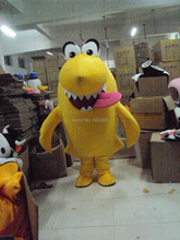 Yellow Shark costume Nestle Wafer Shark Mascot Costume Cartoon Mascot Character Costume Free Shipping