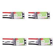 Best Deal 4PCS Racerstar RS30A Lite 30A Blheli_S BB1 2-4S Brushless ESC For FPV Racer(China)