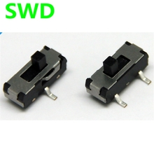 10pcs on-off switch Pull switch 2P2T 3-pin SMD slide switch #DSC0011