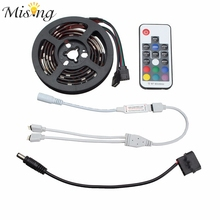 Mising 2 PCS 50CM 30 RGB LED Strip Light 5050 SMD 12V DC With 17 Key RF Wireless Remote For PC Computer Case