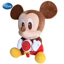 "Disney Mickey Mouse 13""20"" inches Plush Sitting lollipop Baby Stuffed Toy Kids Preferred doll"