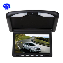 10.1 Inch TFT LCD car Monitor Roof mount ceiling flip down for peugeot Display DVD Player  IR Emission video auto Slim monitor