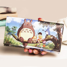 Fashion Women Wallets Brand Lady Purses Handbags Coin Purse Animal Prints Cute Cat Long Clutch Wallet Cards ID Holder Burse Bags