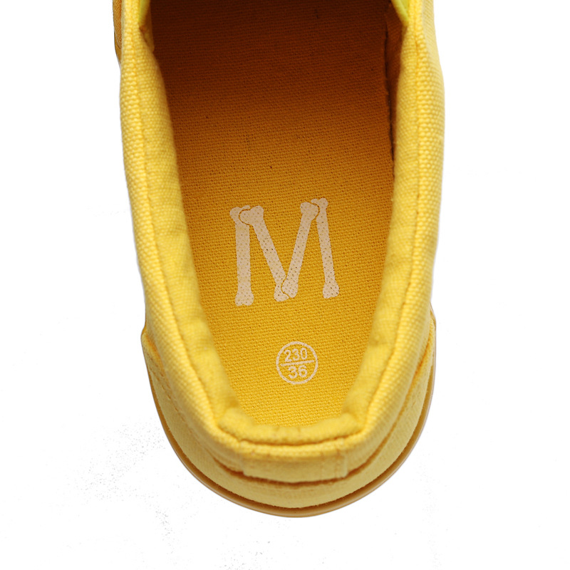 Women Vulcanize spring auntum Shoes Summer Breathable fashion Trainers Casual Shoes Cheap yellow Canvas Platform Shoes Sneakers (18)