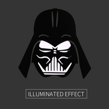 "Darth Vader Head Star Wars Laptop Sticker for Apple MacBook Decal 11"" 12 13 15 Air Pro Retina Mac Adesivo Pegatina Para Notebook"