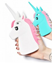 Silicone Cartoon Cover New Case Rubber Unicorn Soft 3D Cute For IPhone 4 4S 5 5S 5C 6 6S 4.7 66S Plus 5.5 White Horse Cases(China)
