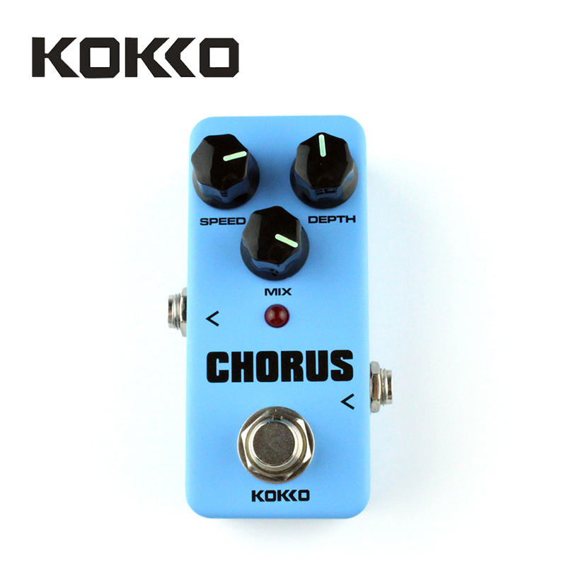 KOKKO FCH2 Mini Chorus Pedal Portable Guitar Effect Pedal High Quality Guitar Parts &amp; Accessories Guitarra Effect Pedal<br>