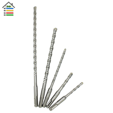 AUTOTOOLHOME 1PC 6 8 10 mm SDS Plus Hole Saw Drilling Electric Hammer Drill Bits For Wall Concrete Brick Block Masonry