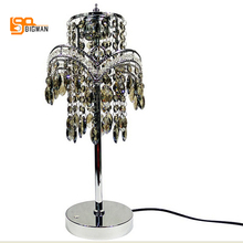 luxury design crystal table lamp dimmable desk lamp modern table lamps for bedroom living room light