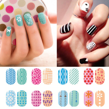 1Sheet/1type Fashion 12 Different Nail Art Model French Style Seal Tip Beauty Decals Hollow Out Nail Stickers Stencil Decor L3