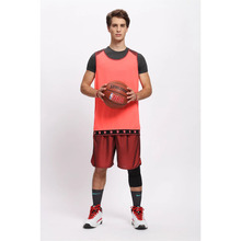 Hot mens breathable basketball jerseys college teens throwback jerseys sports wear space jam kits basketball sleeveless uniforms(China)