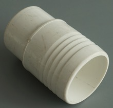 "Plastics Pool & Spa 2"" PVC Pipe Extender Fitting,one side with screw ,one side male to female"