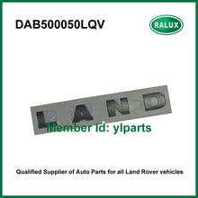 Free shipping DAB500050LQV front auto name plate for LR Discovery 3/4 2010- car brand letter sticker aftermarket parts promotion