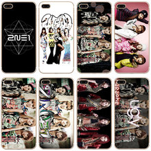 G1 2ne1 Star Group Transparent PC Hard Case Cover For Samsung Galaxy J 3 5 7 A 3 5 7 2016 GRAND 2 PRIME(China)
