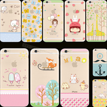 "Free Shipping Fashion Painted Phone Silicon Cases For Apple iPhone 6 4.7"" Case For iPhone6 Cover Shell NDN GAJJ SZLL QGK NZBB AW"