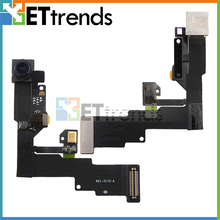 30PCS/LOT Original New Front Facing Camera with Sensor Flex Cable Ribbon for iPhone 6 6 Plus Front Camera Free Ship by DHL