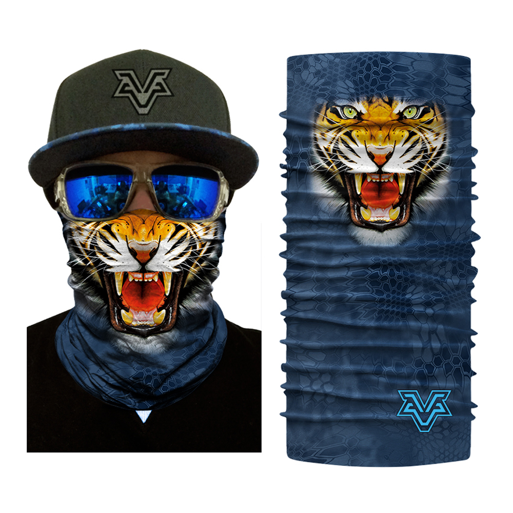 Men Women Sports Motorcycle Face Masks Bicycle Balaclava Scarf Head Wear Outdoor Monkey Tiger Dog Animal Face Mask (10)
