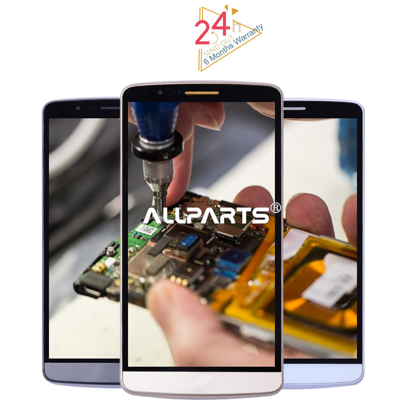 "Tested 5.5"" 2560x1440 TFT Display LG G3 LCD Touch Screen LG G3 Display Digitizer Replacement Parts D850 D851 D855"