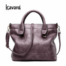 kavard High Quality Women Handbag Casual Large Capacity Hobos Bag Hot Sell Female Totes Bolsas Solid Shoulder Bag ladies handbag(China)