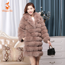 Buy Detachable Full Sleeves Real Fox Fur Coats Vest Women Full Pelt Female Genuine Clothing Fashion Fur Warm Winter Autumn Outwear for $342.24 in AliExpress store