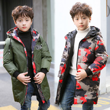 Pig Kami manufacturers selling new children down in the long thick winter coat boy two wear a garment