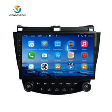 "ChoGath(TM) Android 6.1'' Quad core 10.1"" Car radio GPS Navigation for HONDA Accord 7 2003-2007 support steeling wheel control"