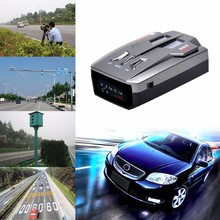 E8 Car Laser Radar Detector 360 Degree Speed Control Road Safety Warner Cars Alarm Security System English/Russian Warning(China)