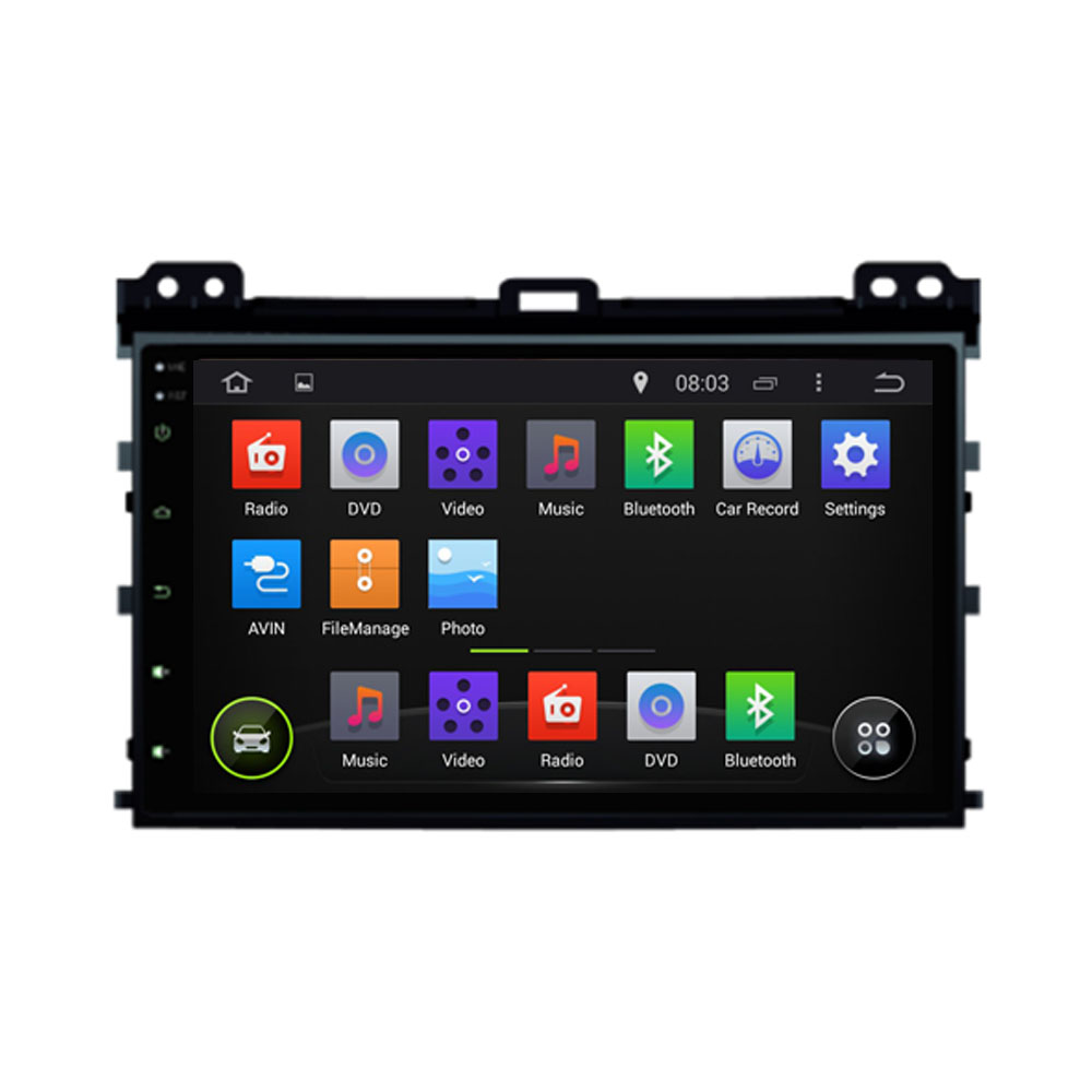 Android 6.0 Octa Core Car DVD Player Fit TOYOTA PRADO 2006 2007 2008 2009 Car DVD Player Navigation GPS Radio(China)