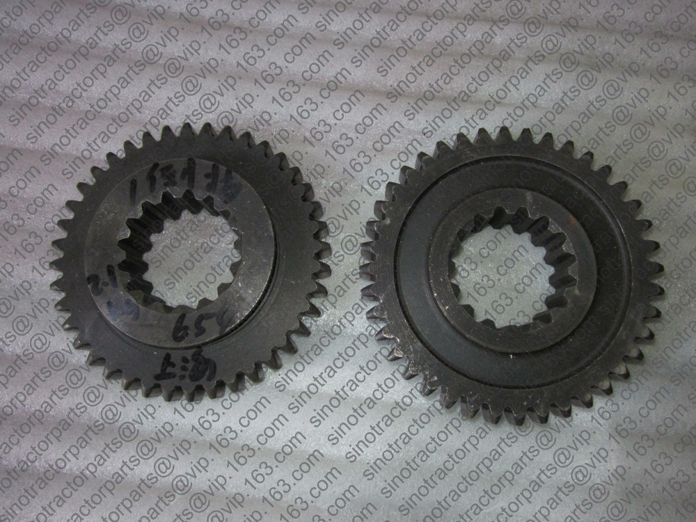 SHANGHAI NEWHOLLAND SH-500 SH504  SH604, the first reverse gear, part number: 500.37A.114<br>