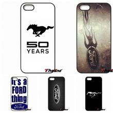 Car Ford Mustang Logo fashion original phone case For iPhone 4 4S 5 5C SE 6 6S 7 Plus Samsung Galaxy Grand Core Prime Alpha