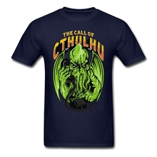 Big Size The Call Of Wild Cthulhu For Men T-shirt Funny Thanksgiving Day Party T Shirts 2017 rugby jersey