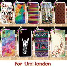 Soft TPU Painted Case For Umi London UMI Rome UMI Rome X Case Smartphone Shell Cover Housing Hood Mobile Phone Skin Case Cover