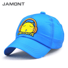 [JAMONT] 2017 Summer Character Breathable Kids Baseball Caps Quick Drying Hats for Boy Girls Size 52~56CM Gorras Z-5357()