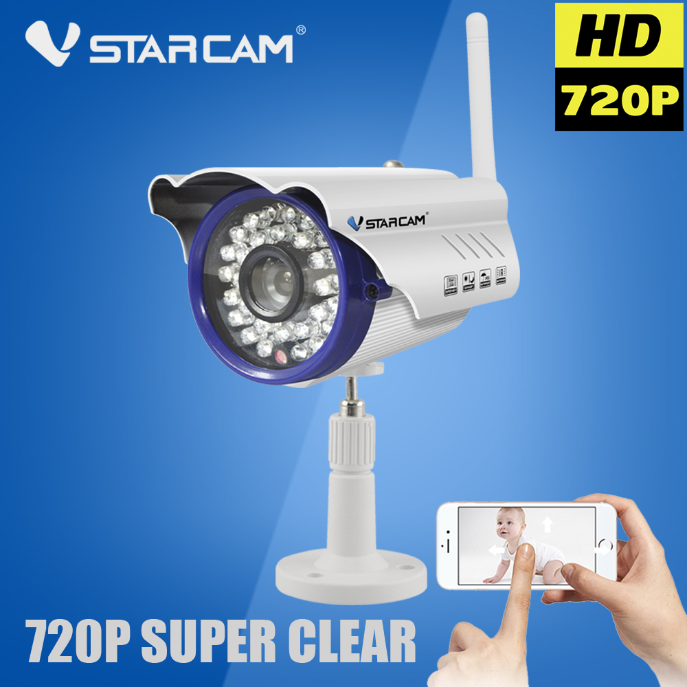 Vstarcam C7815WIP Bullet IP Camera Wi-Fi Wireless 720P WIFI Camera Outdoor Waterproof Onvif P2P Night Vision Surveillance Camara<br><br>Aliexpress