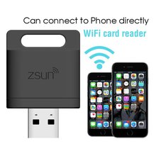 Wireless Card Reader Extend Your Phone Memory Immediately Up to 2TB iPhone Space Pack 8 Player Share For IOS Android Windows OS(China)