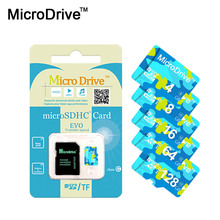High Quality memory card micro sd card 4GB 8GB 16GB 32GB 64GB class10 TF micro sd card with adapter package(China)