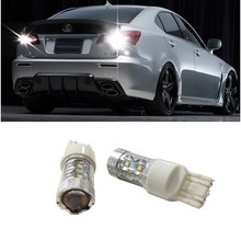1 pair T20 7440 7443 Cree LED Chip Car Stop Tail Car 60W Light For 2013 Mitsubishi Lancer