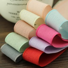 Grosgrain Ribbon 5m/lot 25mm Polyester The New Color Ribbon Manual Diy Sewing Materials Wholesale Clothing Hair Accessories