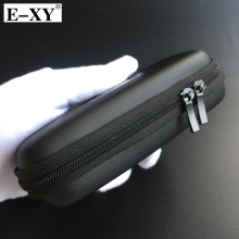 E-XY ego case Middle size leather bag for ego-t ego-w ego-F electronic cigarette vape vapor mod tools carry bag with Zipper