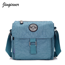 Women's Fashion Nylon Messenger Bags Casual Multi-functional Waterproof Shoulder Bag Mini Canvas Cross-body Bags JQ117/q(China)