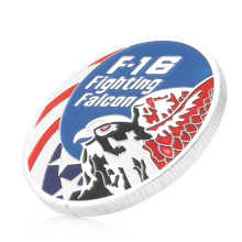 1PC Zinc Alloy Commemorative Coins F-16 Fighting Falcon Commemorative Coins Collection Physical Art Challenge Gift