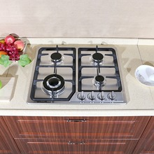 58cm 4 Burner Gas Cooktop Stainless Steel NG - LPG Conversion Kit Cook Top Stove