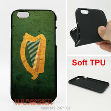 Coat of arms harp ireland Flag Phone Case Soft TPU For iPhone 6 7 Plus SE 5S 4S Touch 6 For Samsung S8 Plus S7 S6 Edge S5 Note 5(China)