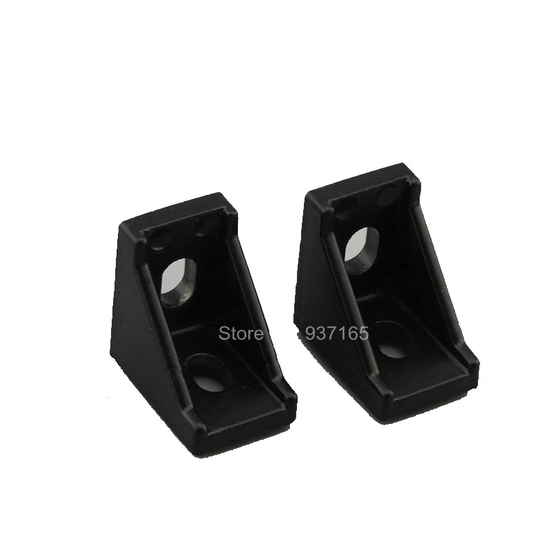 10pcs 2028 2020 Corner Angle L Brackets Connector Fasten Fitting Long Hole for Aluminum Profile 2020 20x20<br><br>Aliexpress