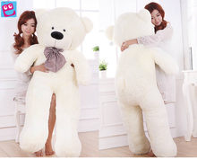 200cm Giant Huge Big Soft PP Cotton Plush Sleepy Teddy Bear Toy Doll white